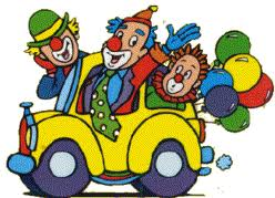voiture clown