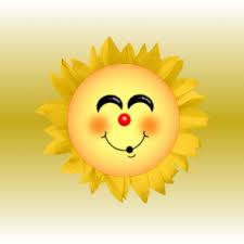 un beau soleil