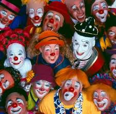 collection de clowns