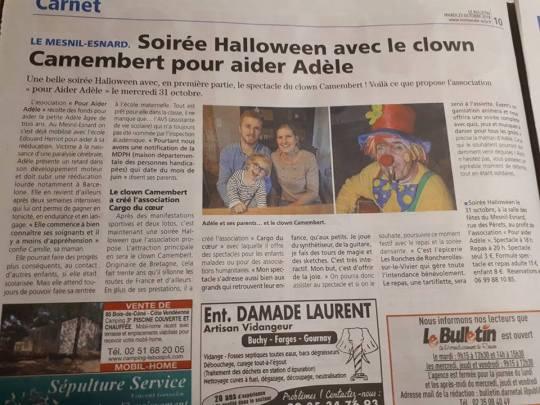 article pour Adèle